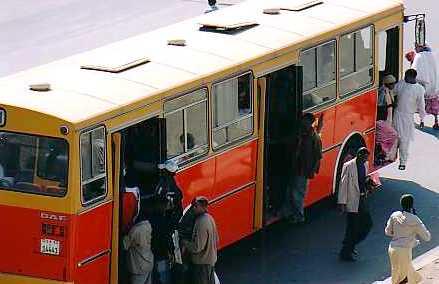 bus in Africa