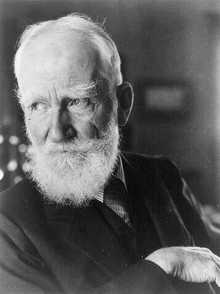 George Bernard Shaw in 1934