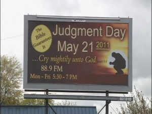 billboard by Harold Camping's Family Radio