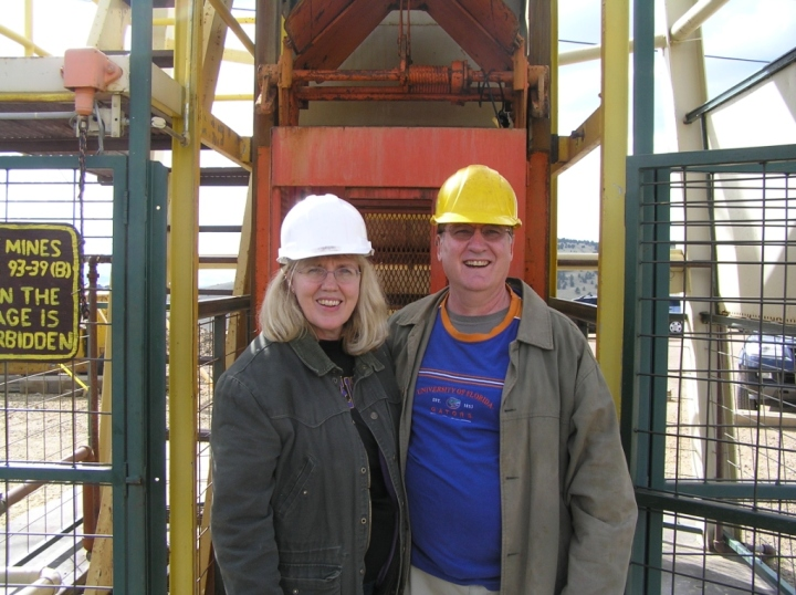 After touring the Mollie Kathleen mine