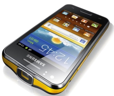 Samsung phone with projector