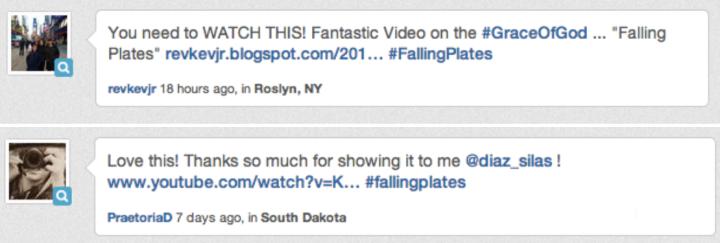 FallingPlates tweets
