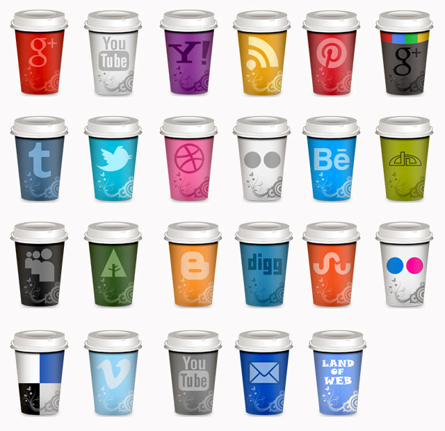 social-media-icons cups