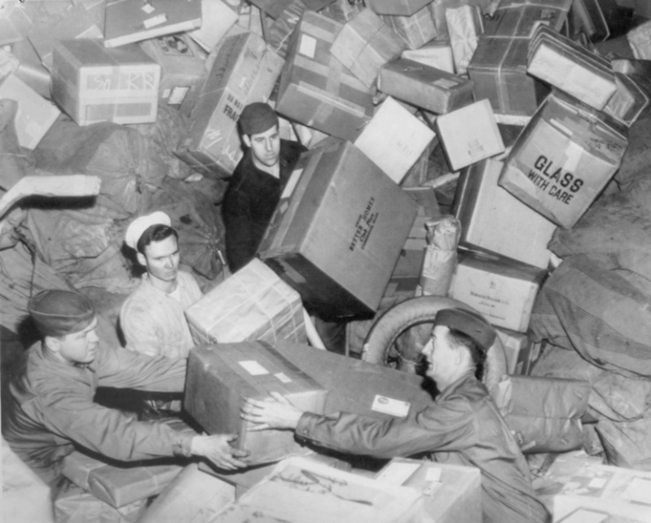 Buried in parcels_ US WWII
