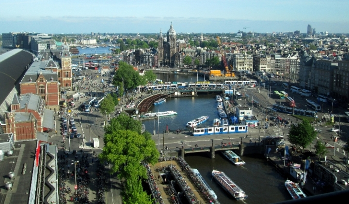 View of Amsterdam 750