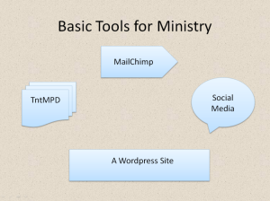 Basic Tools for Ministry