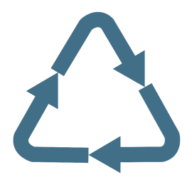 Recycle e4e blue