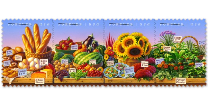 Farmers Market stamps 750x380