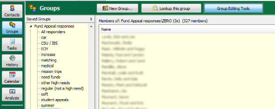 Appeal Response Groups