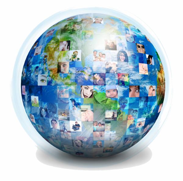 People globe 600