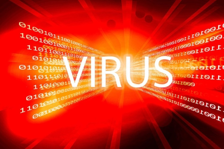 Virus binary digits 750