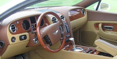 Bentley dashboard