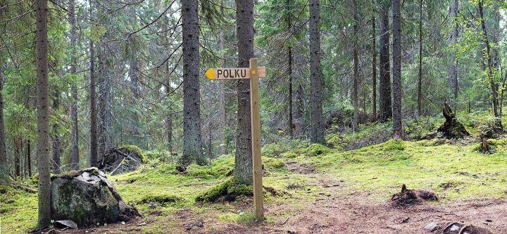Touruvuori nature trail, Jyväskylä.