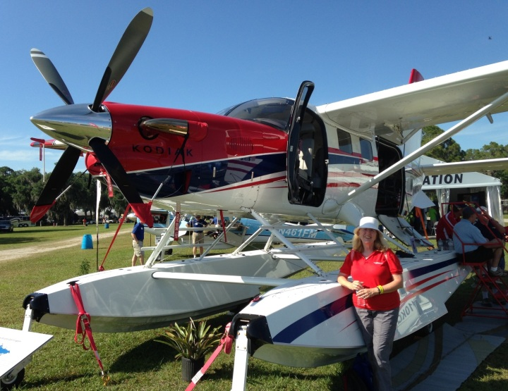 MAF plane at Sun n Fun 2015